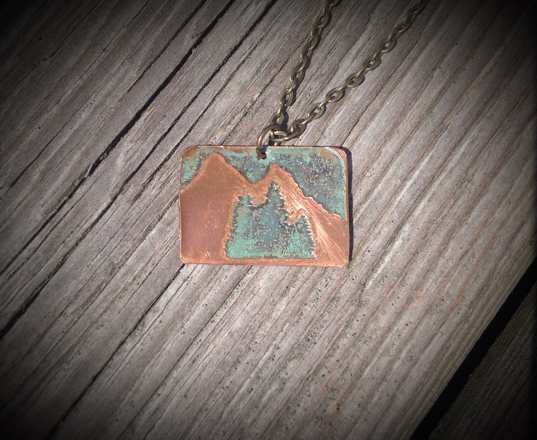 Green Mountains Pendant