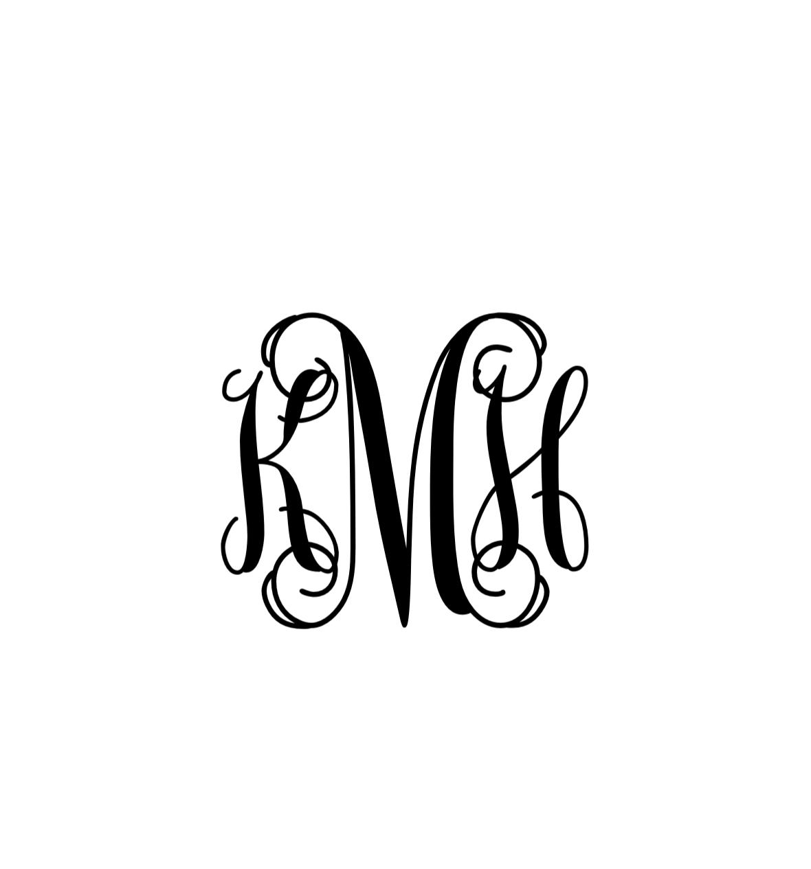 Monogram Initials 1