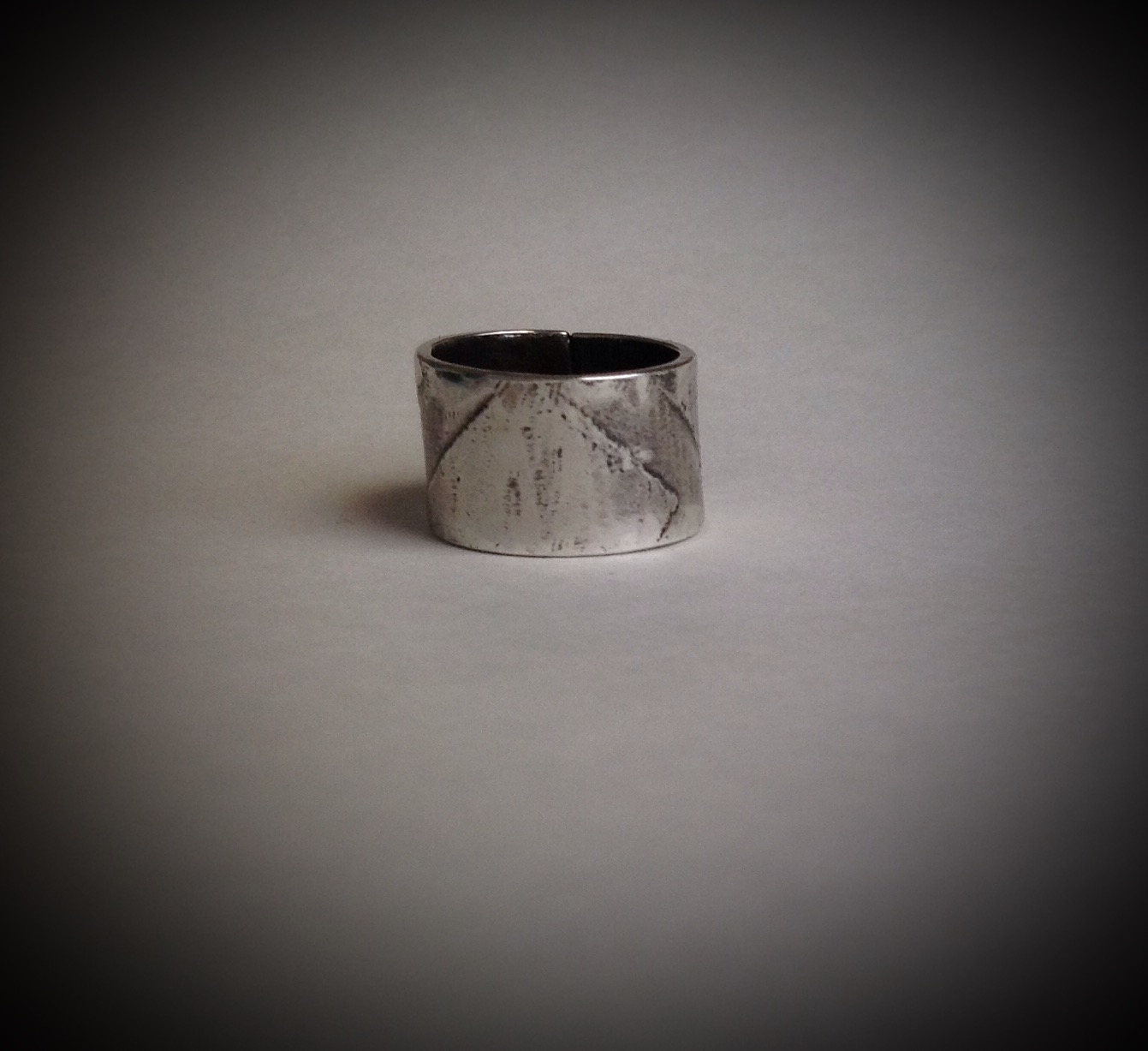 Sterling Silver Chevron Ring