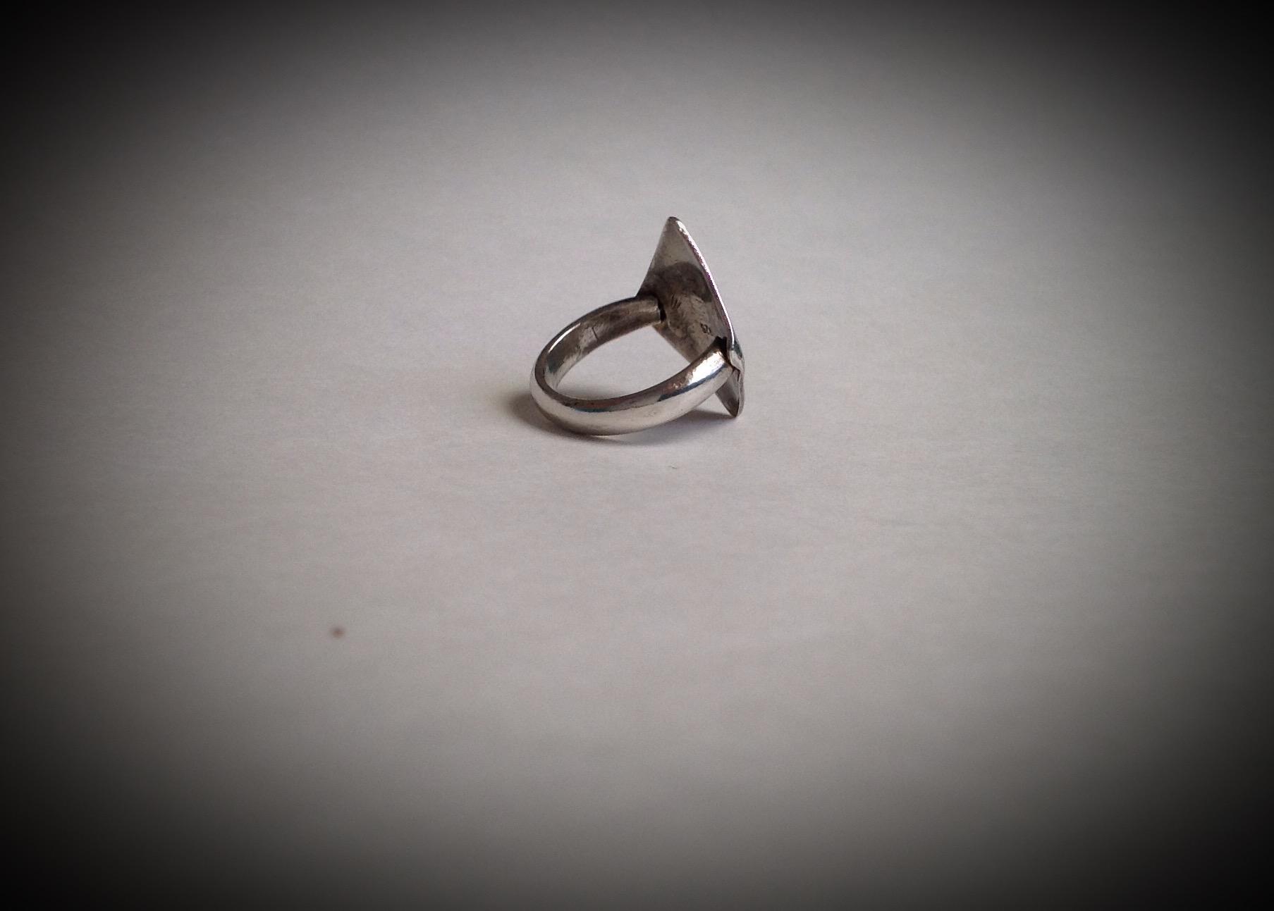 Argentium Trendsetter Ring