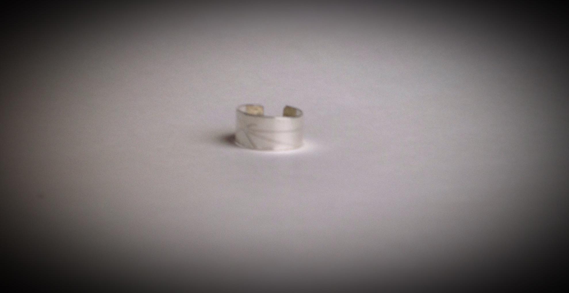 Argentium Starburst Ring