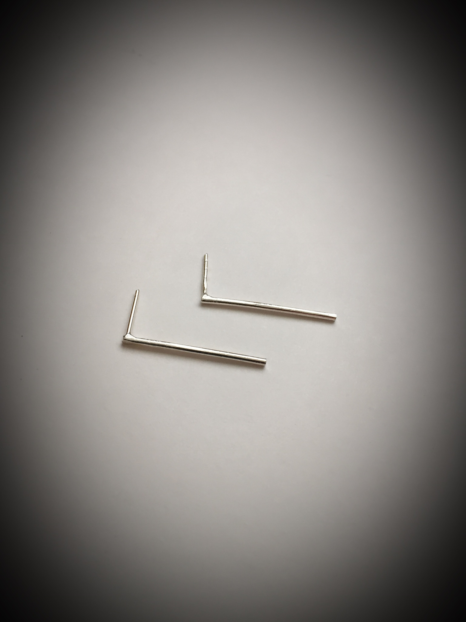 Sterling Bar Earrings