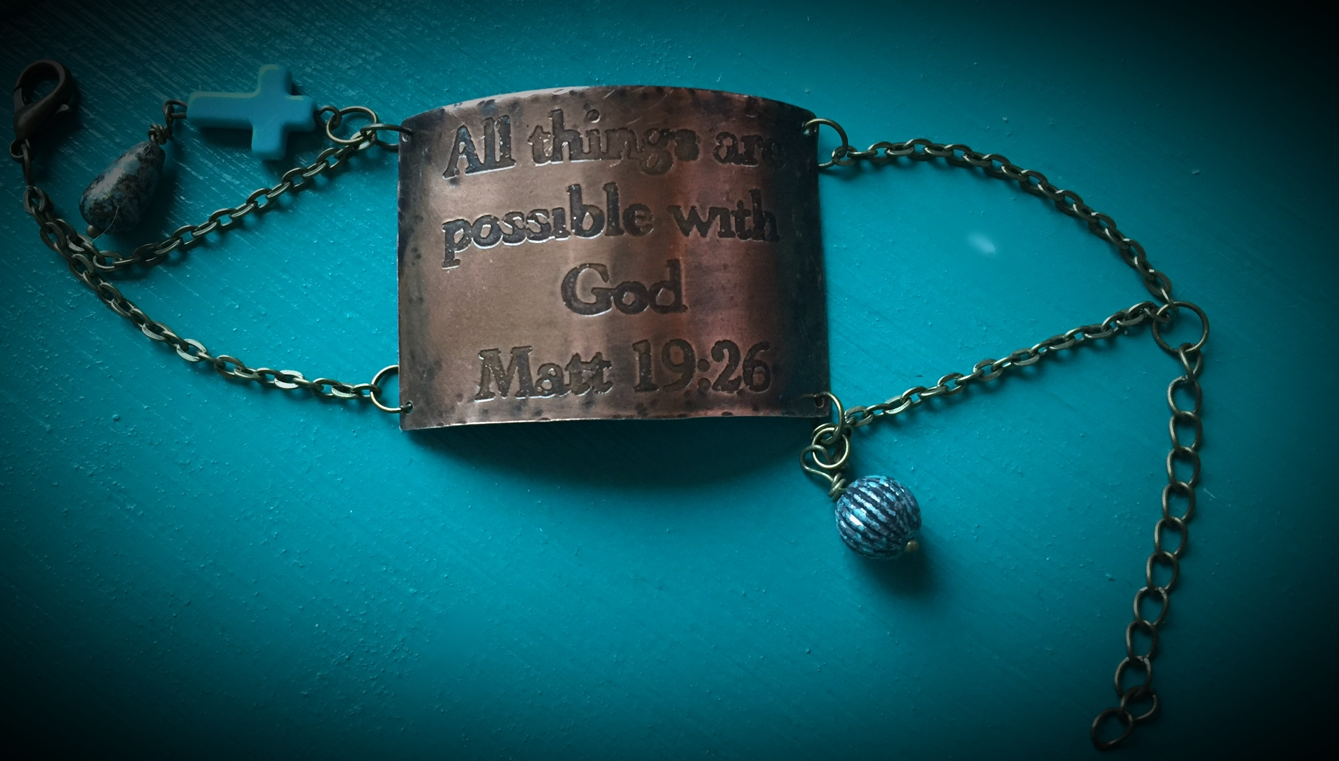All Things Possible Bracelet